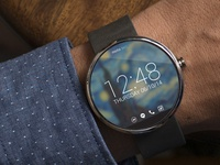 Moto360 Muzei WatchFace