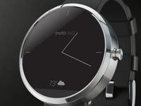 Simple Moto 360 WatchFace