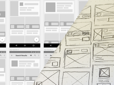 BAM Sketch & Wireframing android ui ux apps wireframe sketch