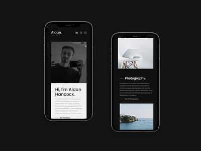 iPhone Web Design. mobile website web iphone