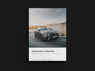 Brochure Concept - Photography Collection cars product design product booklet design brochure design booklet book brochure