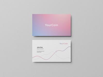YourCoin Business Card business card businesscard design
