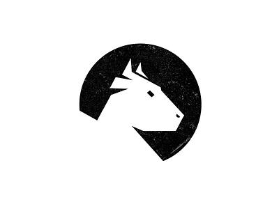 Old Bull mark logotype logo bar grill rock bull