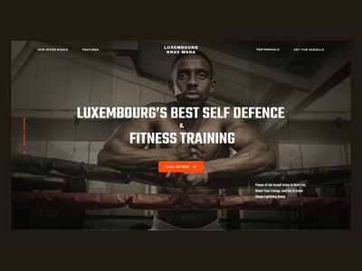Luxebmourg Krav Maga Self-Defence & Fitness Training Center classes defense defence fitness sport ui web