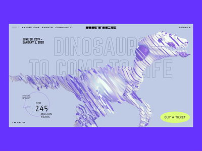 """Artics"" Art Gallery – ""Dinosaurs come to life"" exhibition"