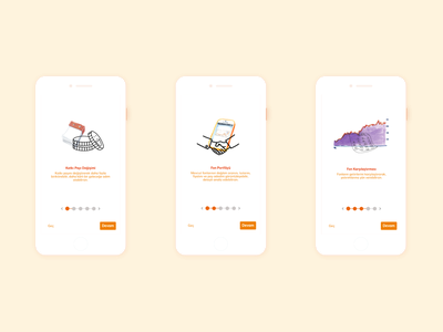 NN Group | Onboarding services financial app financial branding vector illustration ios app project mobile ux shot design ui