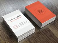 Writer & Photographer Business Cards