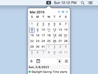 Itsycal 0.9.0b osx calendar mac