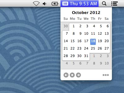 Itsycal mac calendar osx