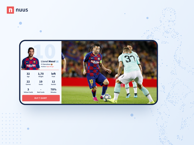 AI players recognition design app design ui stats football players match artificial intelligence ai android ios button fun sports game people identity recognition face app