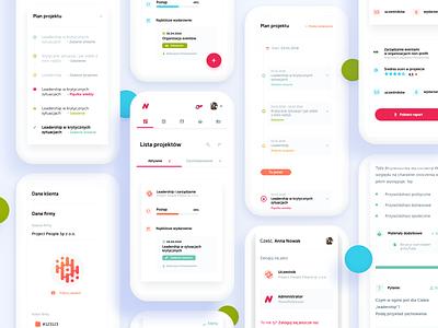 Nowe Motywacje - Mobile education app platform eduplatform edu rwd mobile ux ui design