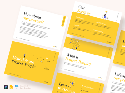 Pitch deck free template