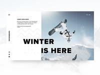 Snowboard Event UI