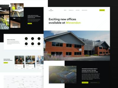 Wavendon Office Landing Page