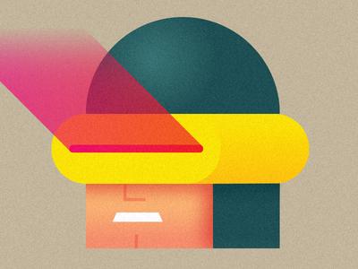 Just Cyclops cyclops x-men shapes design illustrator