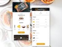 Recipe App Design
