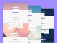 BetterCompany Landing Page Web Designs