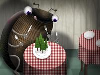 Dining on hemlock