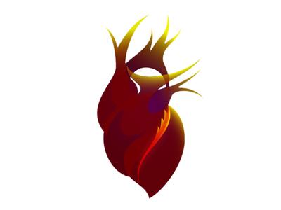 Heartfire 02 medical branding logo