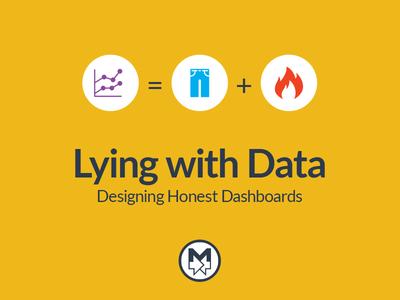 Lying With Data Presentation Cover presentation
