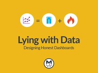 Lying With Data Presentation Cover