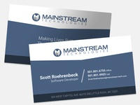 Mainstream Business Cards