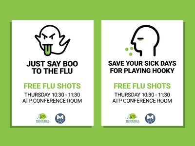 Flu Shot Posters
