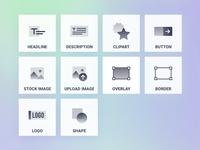 Custom - Gradient Icon Set