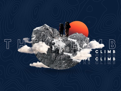 The Climb Spring Retreat - navy youth group student ministry sermon series santification retreat mountains message hiking clouds climbing church