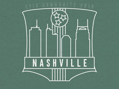 Nashville T-Shirt Design