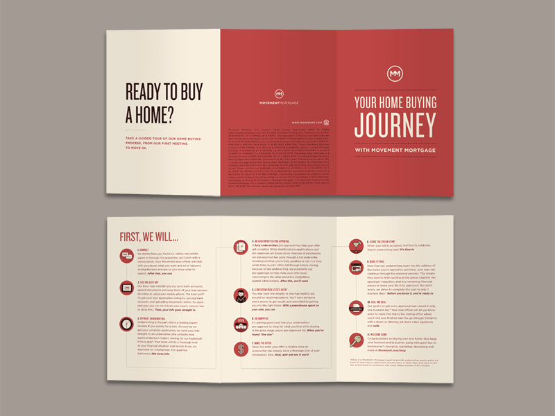 home buying journey trifold by todd cook