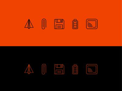 Icons mobile art clean identity illustrator minimal website flat animation web app ux vector ui illustration icon branding design icons iconography