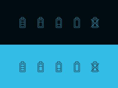 Icons phone charge power illustrator animation website minimal flat web app ux ui vector illustration icon branding design icons iconography battery