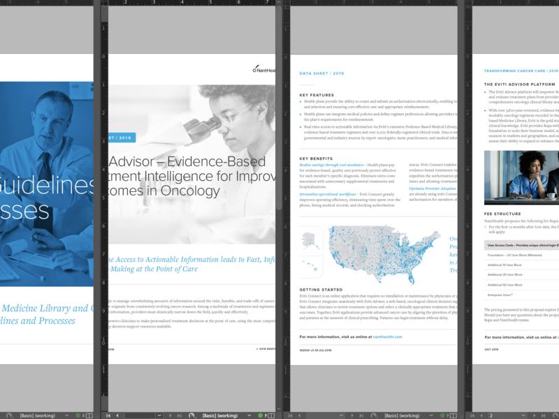 Layout data visualization data viz infographic print design print rfp response whitepaper data sheet data healthcare layout design layout logo typography branding design