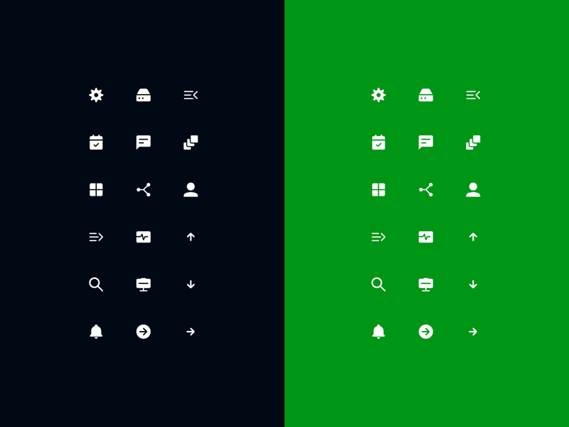 icons minimal material design brand pixel user interface user experience logo grid digital web app ux ui vector illustration icon icons branding design iconography
