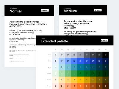 Untappd Brewkit Base design system color typography base system design ux ui design