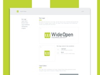 Wide Open Tech Style Guide