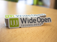 Wide Open Tech Stickers