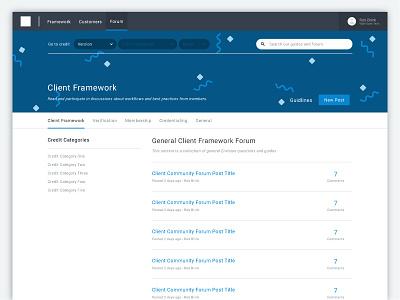 Credit Forum product design forum ui design ui