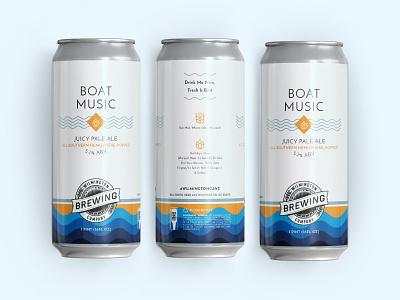 Wilmington Brewing Company Label Design Update dieline packaging package design print label design craft beer beer