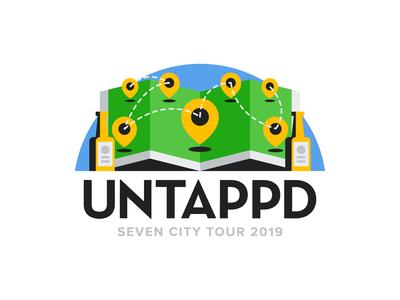 Untappd Seven City Tour 2019