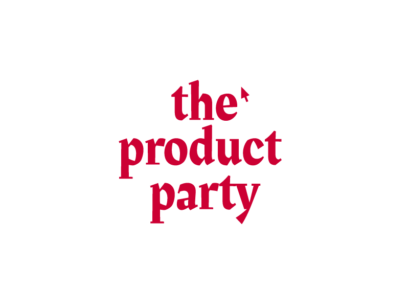 The product party ⭐️ identity product bootstrapped brand logo