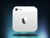 iPhone 5 iOS - white