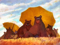 Bears at Lunch