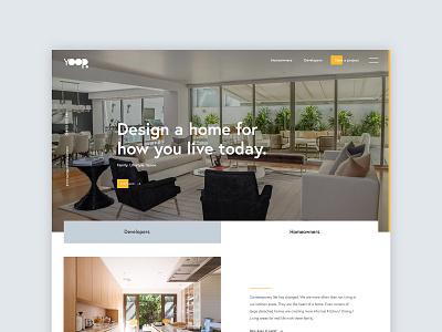 Architect website webdesign clean typogaphy architecture architect