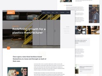 Case study page