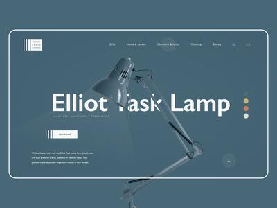 Elliot task lamp