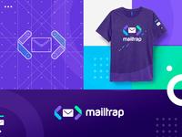 Mailtrap t-shirt vivid colors.