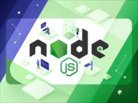 What is Node.js used for? Blog-post illustration.