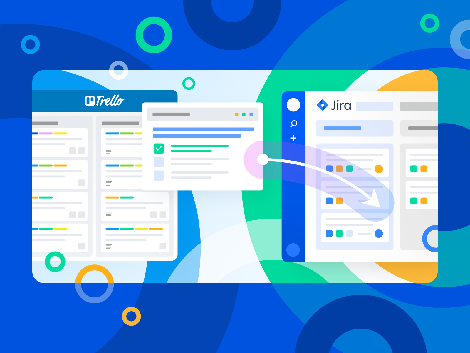 Migrate Checklist from Trello to Jira. by Kate Musayeva | Dribbble | Dribbble